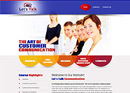 This website is designed by Logoinn for 'Lets Talk Communication'  in May  , 2013