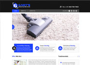 This website is designed by Logoinn for 'Garts Cleaning Services'  in November  , 2013