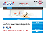 This website is designed by Logoinn for 'BE PREPARRED' in April, 2012.