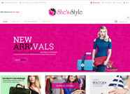 This website is designed by Logoinn for 'She's Style' in Jan, 2015.