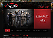 This website is designed by Logoinn for 'Lone Star Events, Inc.'  in April  , 2012.