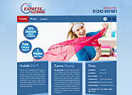 This website is designed by Logoinn for 'Express Cleaning 247'  in May  , 2012