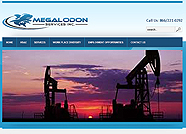 This website is designed by Logoinn for ' Megalodon Services Inc ' in February, 2012.