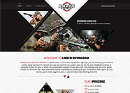 This website is designed by Logoinn for 'Lazer Overload' in Nov, 2013.