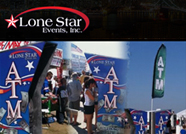 This website is designed by Logoinn for 'Lone Star Events' in April, 2011.