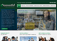 This website is designed by Logoinn for  ' Exponential Commercial Finance'  in September , 2012