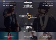 This website is designed by Logoinn for 'King and Queens' in Jan, 2016.