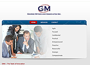 This website is designed by Logoinn for '  George Mitges and Asociates Inc ' in December, 2011