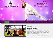 This website is designed by Logoinn for ' Ushtrasanam' in Dec, 2015.