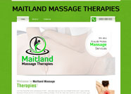 This website is designed by Logoinn for 'Maitland Massage Therapies'  in December  , 2012