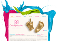 This website is designed by Logoinn for 'cute Impressions' in October, 2012.