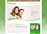 This website is designed by Logoinn for 'Ipswich Dental Care'  in January  , 2013