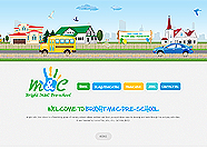 This website is designed by Logoinn for 'Bright M&C Pre-School' in June, 2014.