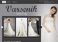 This website is designed by Logoinn for 'Varsenik Tailoring' in Jan, 2014.