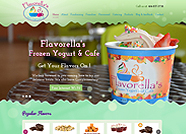 This website is designed by Logoinn for 'Flavorella's' in April, 2014.