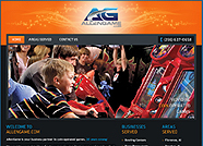 This website is designed by Logoinn for 'Allen Game' in Dec, 2012.