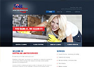 This website is designed by Logoinn for 'Australian Janitor Services'  in May  , 2013
