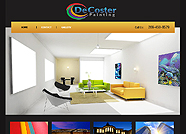 This website is designed by Logoinn for ' DeCoster Painting' in June, 2012
