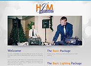 This website is designed by Logoinn for ' HJM Entertainment ' in November, 2011.