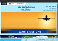 This website is designed by Logoinn for ' Ejarts Designs ' in December, 2011.