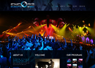 This website is designed by Logoinn for 'Encor3 Events' in October, 2012.