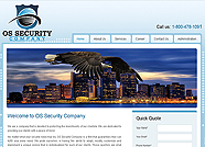This website is designed by Logoinn for ' OS Security Company' in January, 2012.