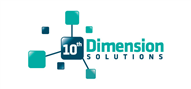 Logoinn created this logo for 10th Dimension Solutions Pty Ltd - who are in the IT Logo Design  Sectors