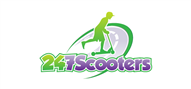 Logoinn created this logo for 247 scooters - who are in the Sports Logo Design  Sectors