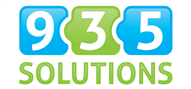 Logoinn created this logo for 935 Solutions - who are in the IT Logo Design  Sectors
