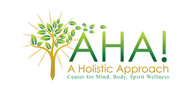 Logoinn created this logo for AHA! - A Holistic Approach - who are in the Green Logo  Sectors