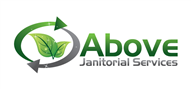 Logoinn created this logo for Above Janitorial Services - who are in the Cleaning Services Logo Design  Sectors