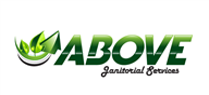 Logoinn created this logo for Above Janitorial Services - who are in the Green Logo  Sectors