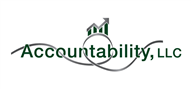 Logoinn created this logo for Accountability, LLC - who are in the Accountancy Firm Logo Design  Sectors