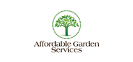 Logoinn created this logo for Affordable Garden Services - who are in the Landscape Logo Design  Sectors
