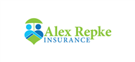 Logoinn created this logo for Alex Repke Insurance Group LLC - who are in the Insurance Logo Design  Sectors