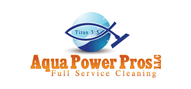 Logoinn created this logo for Aqua Power Pros - who are in the Cleaning Services Logo Design  Sectors