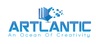 Logoinn created this logo for Artlantic LLC - who are in the Education Logo Design  Sectors