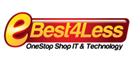 Logoinn created this logo for Best 4 Less Electronics Ltd - who are in the Computer Logo Design  Sectors
