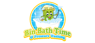 Logoinn created this logo for Bin Bath Time - who are in the Cleaning Services Logo Design  Sectors