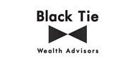 Logoinn created this logo for Black Tie Wealth Advisors - who are in the Advisory Logo Design  Sectors
