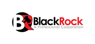 Logoinn created this logo for Blackrock Professional Corporation - who are in the Legal Logo Design  Sectors