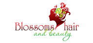Logoinn created this logo for Blossms Hair and Beauty - who are in the Hair Logo Design  Sectors