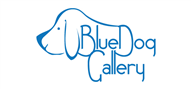 Logoinn created this logo for Blue Dog Gallery - who are in the Wholesale Logo Design  Sectors