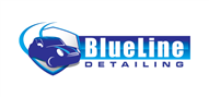 Logoinn created this logo for BlueLine Detailing - who are in the Automotive Logo Design  Sectors
