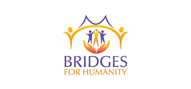 Logoinn created this logo for Bridges For Humanity - who are in the Charity Logo Design  Sectors