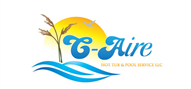 Logoinn created this logo for C-Aire Hot Tub & Pool Service Llc - who are in the Landscape Logo Design  Sectors
