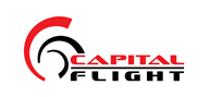 Logoinn created this logo for Capital Flight - who are in the Transportation Logo Design  Sectors