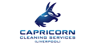 Logoinn created this logo for Capricorn Cleaning Services(Liverool) - who are in the Cleaning Services Logo Design  Sectors