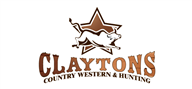 Logoinn created this logo for Claytons Country Western & Hunting  - who are in the Fashion Logo Design  Sectors