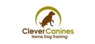 Logoinn created this logo for Clever Canines Home Dog Training - who are in the Pet Logo Design  Sectors